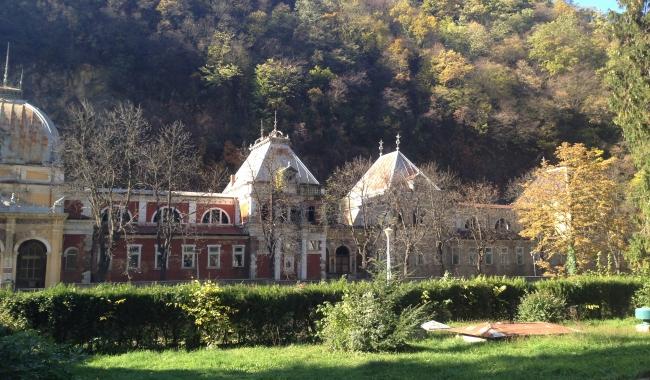 Sursa foto: www.101stiri.ro-Grațiela GHEORGHE CARAGICU  Băile Herculane