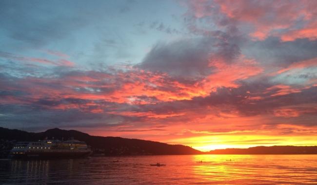 Sursa foto: www.101stiri.ro-Camelia DUȚU   Bergen, Norvegia