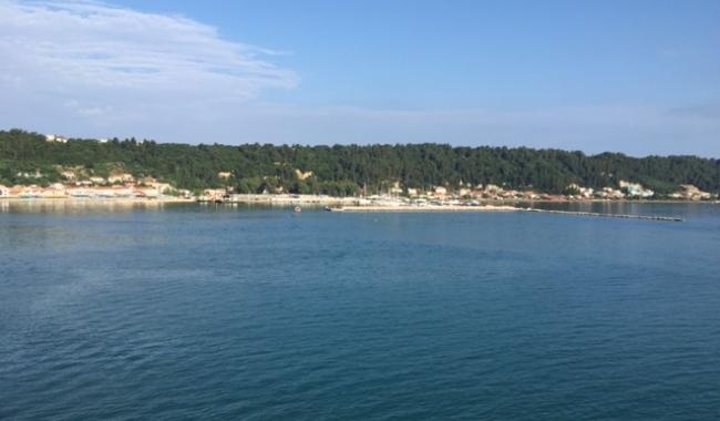 Sursa foto: www.101stiri.ro-Stelian CARAGICU Katakolon, Grecia