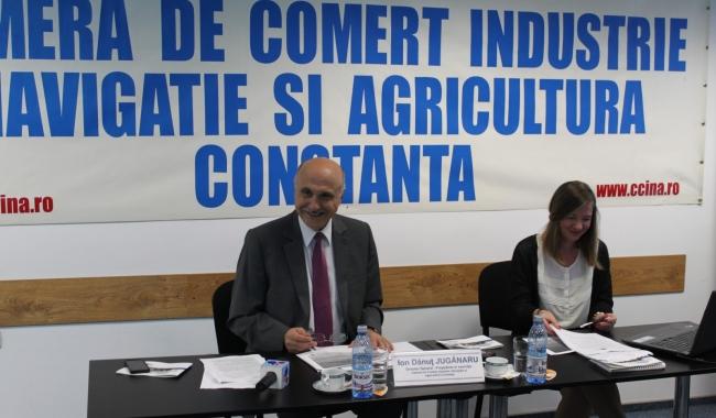 Sursa foto: www.101stiri.ro-Gabriela GEVELEGEAN CCINA Constanța a organizat, zilele trecute, o întâlnire cu patroni şi administratori de mici unităţi din domeniul turismului.