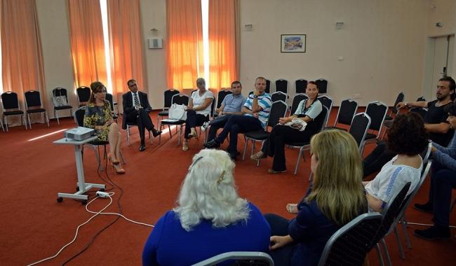"""Sursa foto:  ALDD Programul """"City Break la Constanța"""" a fost dezbătut de președintele ALDD, Corina Martin și agenții economici din oraș"""