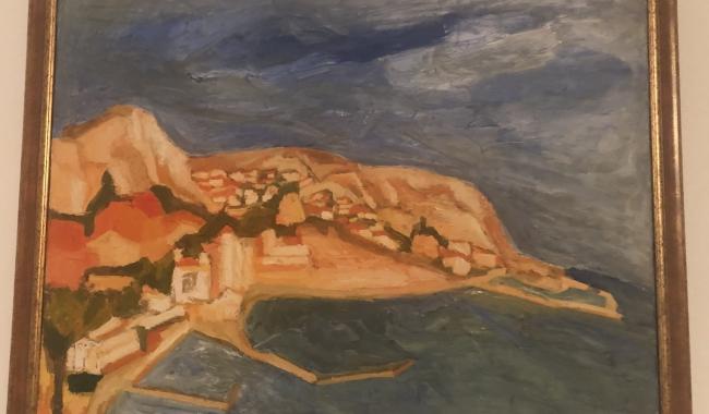 Una dintre lucrările reprezentative ale Danielei Țurcanu-Caruțiu - Vama Veche