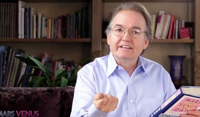 Sursa foto: youtube.com  John Gray este considerat cel mai bun expert în relații din lume