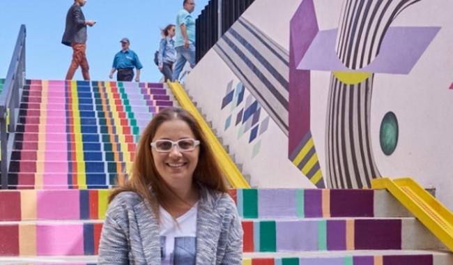 Laura Stroe, organizator al evenimentului  Sursa foto: Daniel Titirică