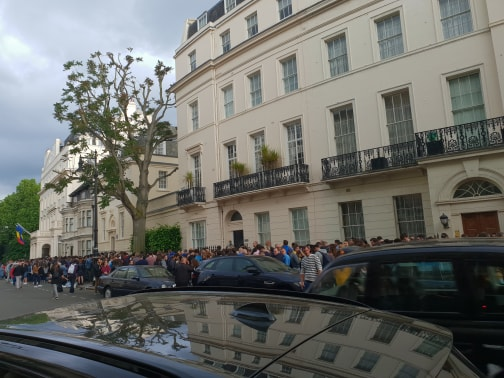 Sursa foto: 101stiri.ro - Elena Caragicu, Londra