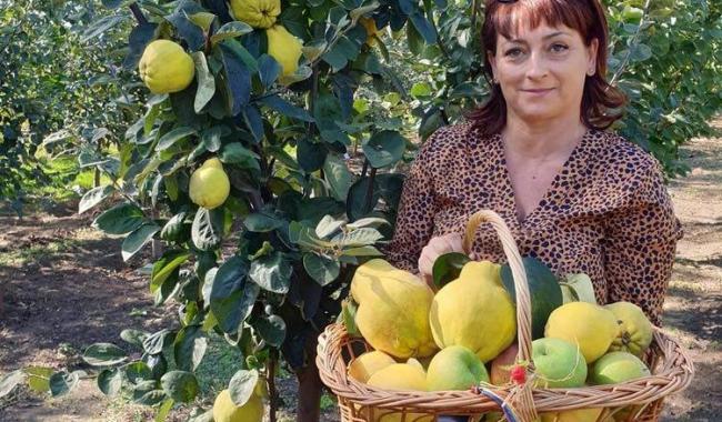 Mihaela Dumbravă, antreprenor de succes, la renumita pepinieră din Cobadin, județul Constanța