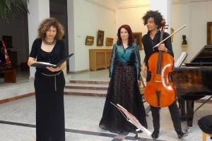 Acorduri magice de pian și violoncel, într-un duo de senzație: Andreea Bratu - Omar Flavio Careddu