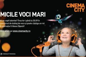 Casting la Cinema City, pentru copii talentați!