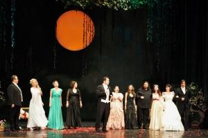 """Teatrul Naţional """"Oleg Danovski"""" a marcat festiv ziua de Dragobete"""