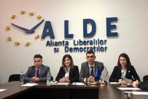ȘEDINȚA CLUBULUI STUDENȚILOR ALIANȚEI LIBERALILOR ȘI DEMOCRAȚILOR CONSTANȚA