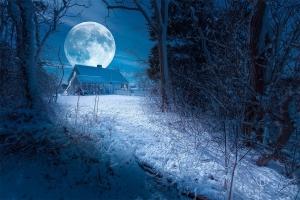Lună plină de Crăciun, vizibilă pentru prima dată în ultimii 40 de ani