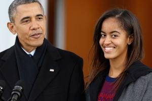 Fiica lui Obama a fost cerută în căsătorie