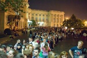 Protest inedit, de Noaptea Muzeelor