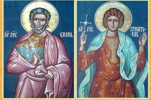 Sfinții Mucenici Ermil și Stratonic, sărbătoriți pe 13 ianuarie