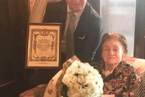MINISTERUL CULTURII: DIPLOMĂ DE EXCELENȚĂ PENTRU TAMARA BUCIUCEANU-BOTEZ, LA ÎMPLINIREA A 90 DE ANI!