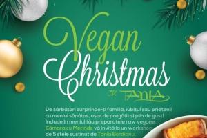 "Workshop ""Vegan Christmas"", cu Tania Bordianu, la Constanța"