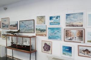 Artă și... aviație, la Muzeul Marinei Române